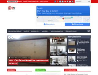 dekorsaati.com screenshot