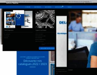 delabie.fr screenshot
