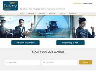 delacyexecutive.co.uk screenshot
