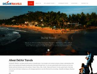 delairtravel.com screenshot