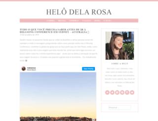 delarosa.com.br screenshot