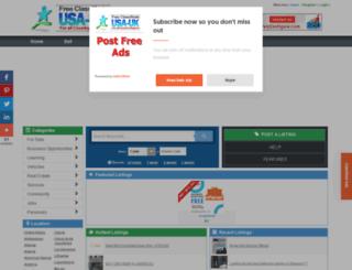 delaware.usauk-classifieds.com screenshot