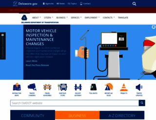 deldot.gov screenshot