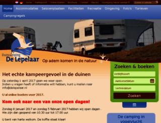 delepelaar.nl screenshot