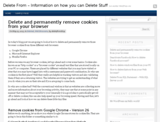 deletefrom.com screenshot
