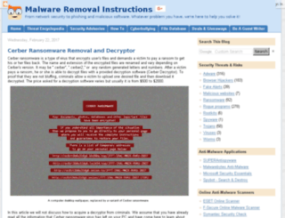 deletemalware.blogspot.com.br screenshot