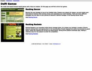 delftgames.com screenshot