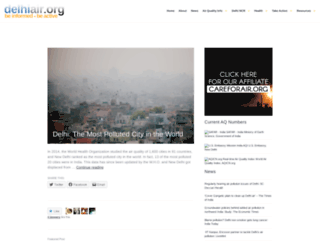delhiair.org screenshot
