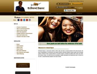 delhidentalremedies.com screenshot