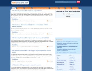 delhielections.com screenshot
