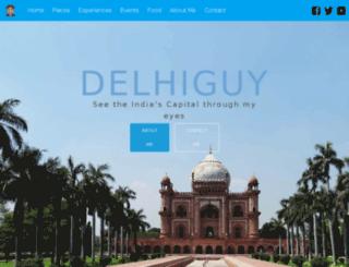 delhiguy.com screenshot