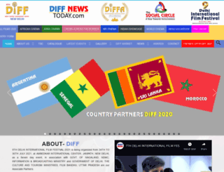 delhiinternationalfilmfestival.com screenshot