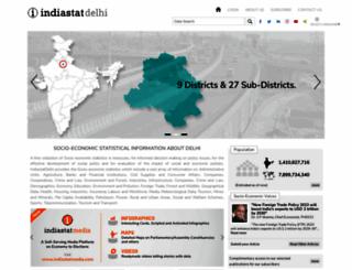 delhistat.com screenshot