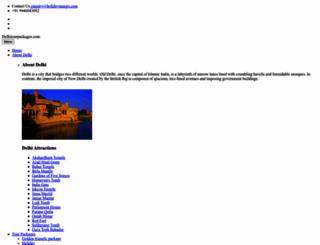 delhitourpackages.com screenshot