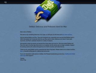 delibarapp.com screenshot