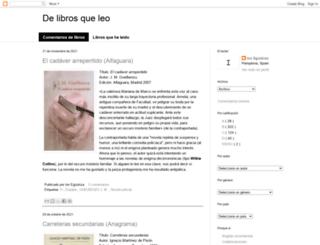 delibrosqueleo.blogspot.com screenshot