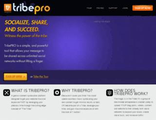 deliciousbacklinks.tribepro.com screenshot