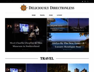 deliciouslydirectionless.com screenshot