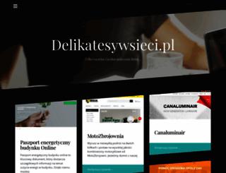 delikatesywsieci.pl screenshot