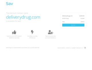deliverydrug.com screenshot