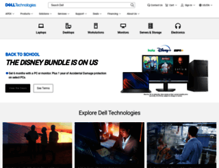 dell.com.cn screenshot