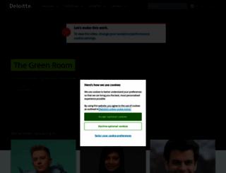 deloitte.co.uk screenshot