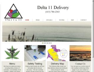 delta11.org screenshot