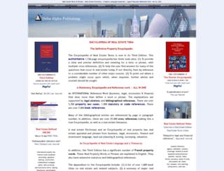 deltaalpha.com screenshot