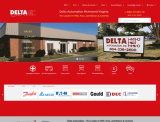 deltaautomation.com screenshot