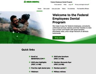 deltadentalfeds.org screenshot