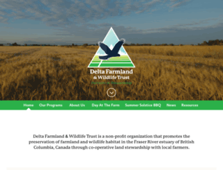 deltafarmland.ca screenshot
