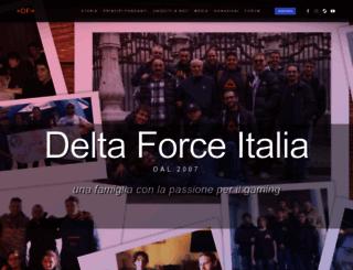 deltaforceitalia.eu screenshot