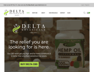 deltaliquids.com screenshot