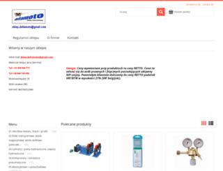 deltamoto.pl screenshot