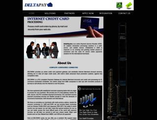 deltapay.biz screenshot