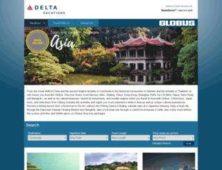 deltavacationsasia.com screenshot