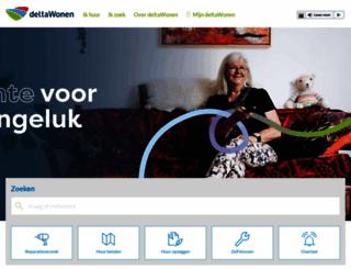 deltawonen.nl screenshot