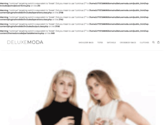 deluxemoda.com screenshot