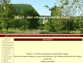 deluz.e-monsite.com screenshot