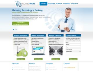 delvingware.com screenshot