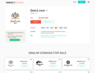 dem2.com screenshot