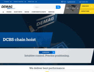 demag.com.au screenshot
