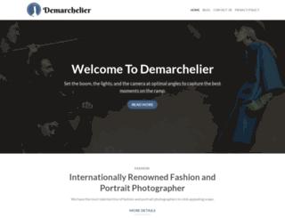 demarchelier.com screenshot