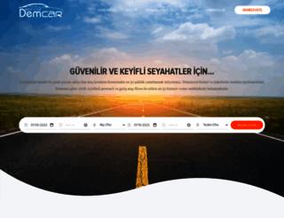 demcar.com.tr screenshot
