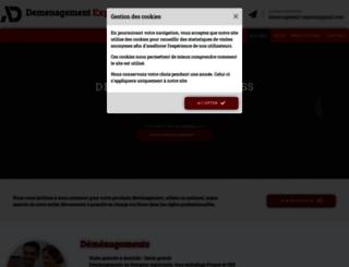 demenagement-express.fr screenshot