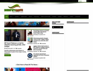 demerarawaves.com screenshot