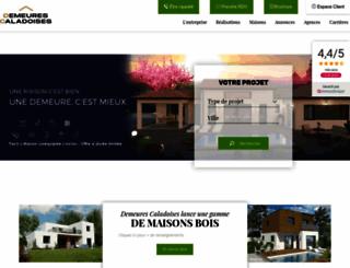 demeures-caladoises.com screenshot