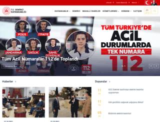 demirci.gov.tr screenshot