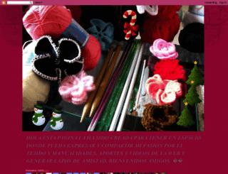 demismanostejidos.blogspot.mx screenshot