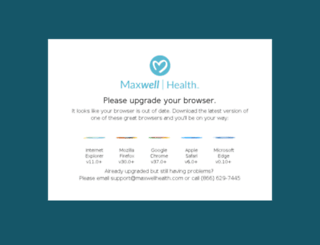 demo-app.maxwellhealth.com screenshot